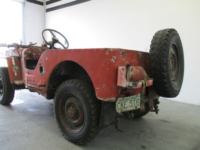 Used Cars Idaho Falls >> Willys 1945 For Sale. CO.NO.WN68255205 1945 Ford GPW WW2