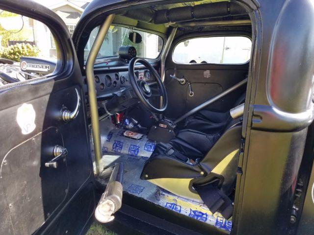 Ford Pick Up Hot Rat Street Rod Custom Drag Car Chopped Chevy Big Block