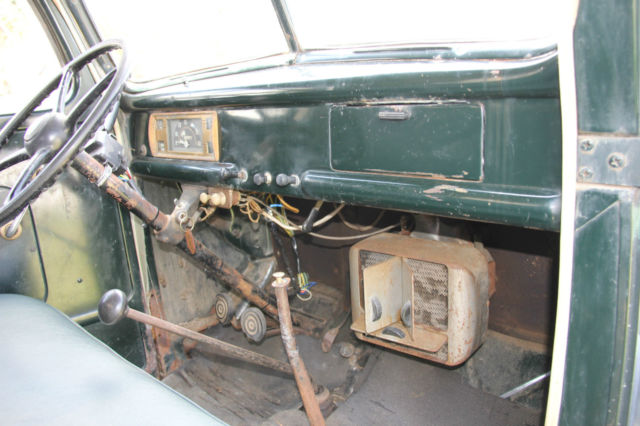 ford other pickups farm truck stake bed 1946 green for