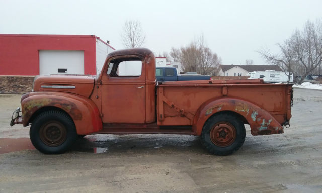 ford other pickups standard cab pickup 1946 red for sale 1946 mercury one ton 1 ton pickup. Black Bedroom Furniture Sets. Home Design Ideas