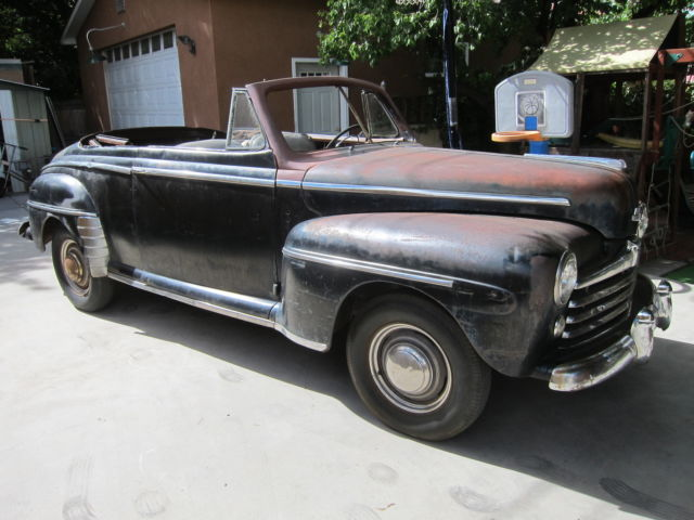 ford other convertible 1947 for sale 799a1772977 1947 ford convertible barn find 1940 1941 1946. Black Bedroom Furniture Sets. Home Design Ideas