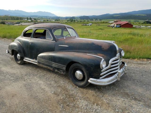 Pontiac Other Coupe 1947 Black For Sale P6ma215260 1947 Pontiac Torpedo Sport Business Coupe
