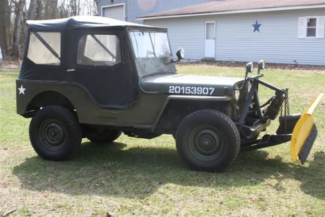 willys cj2a army like 1947 green for sale cj2a116379 1947 willys cj2a jeep with rear pto and. Black Bedroom Furniture Sets. Home Design Ideas