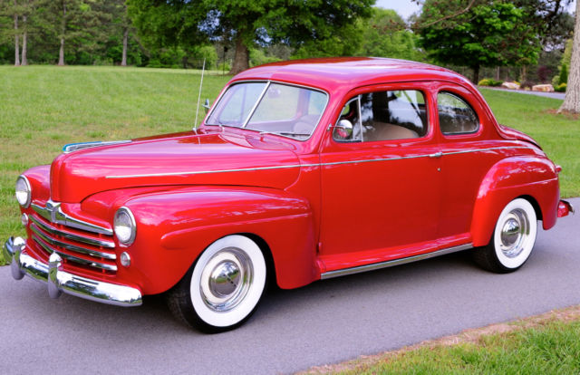 Ford Other 1948 Burgundy For Sale  899A2164673 1948 Ford