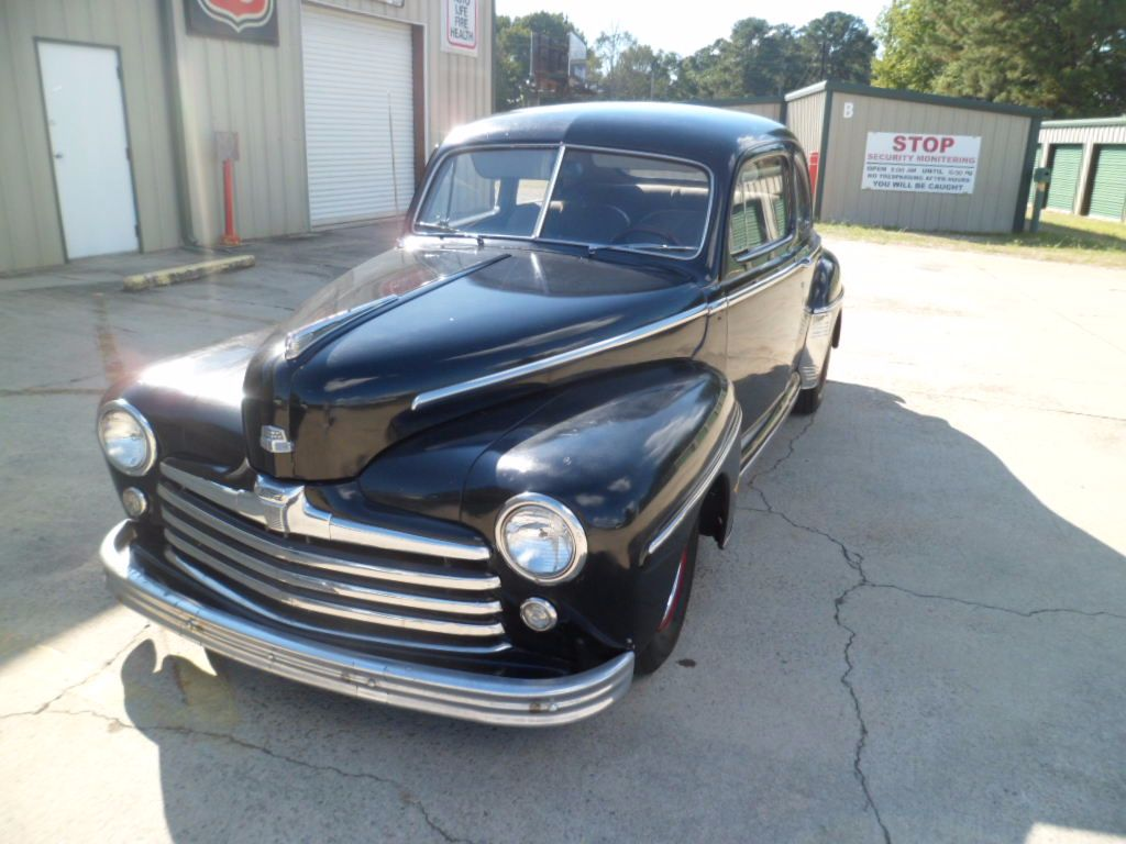 Ford Super Deluxe Coupe 1948 Black For Sale 2289582 Mustang 1