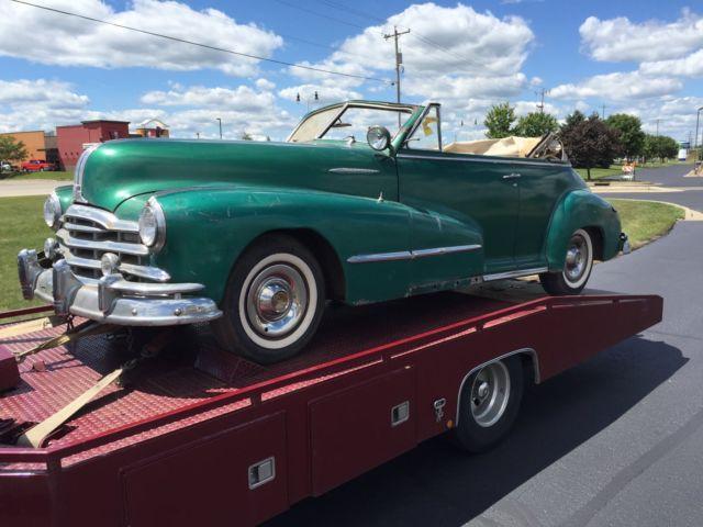 1948 Pontiac Convertible Rare Records Since 1978 Solid Car