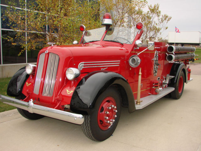 Free Vehicle History Report By Vin >> Other Makes 1948 Red For Sale. D8095 1948 Seagrave V12 ...