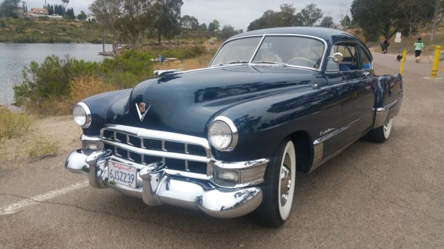 cadillac other fastback 1949 triumph blue for sale 496261372 1949 cadillac series 62 sedanette. Black Bedroom Furniture Sets. Home Design Ideas