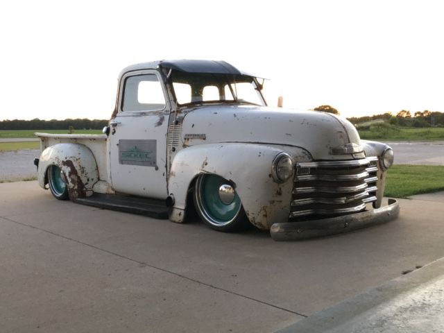 Chevrolet c 10 standard cab pickup 1949 white for sale for 1949 chevy 5 window pickup for sale