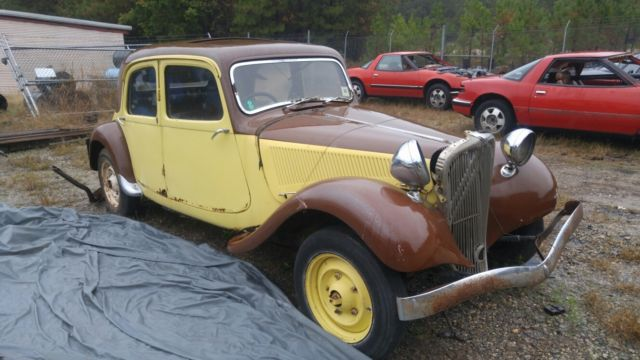 citro n other 1949 yellow for sale 133490 1949 citroen traction avant slough built sunroof. Black Bedroom Furniture Sets. Home Design Ideas