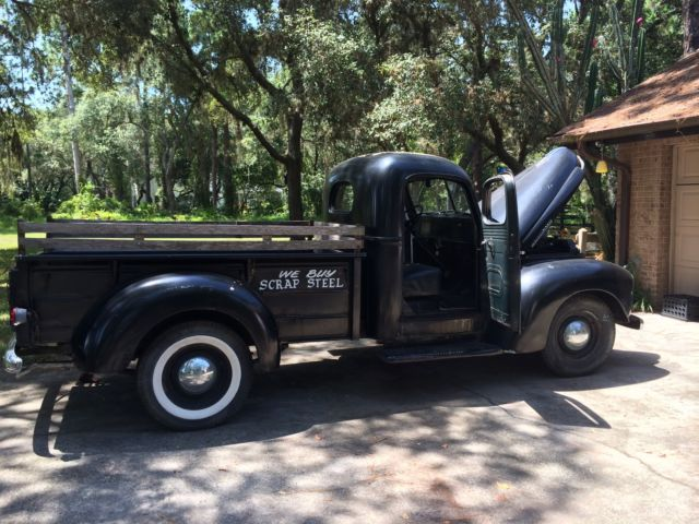 International Harvester Other Standard Cab Pickup 1949 Black