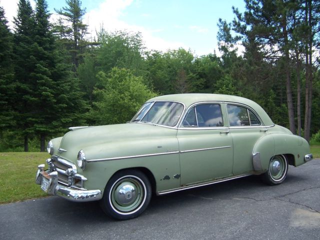 Chevrolet Other Sedan 1950 Green For Sale 1950 Chevrolet