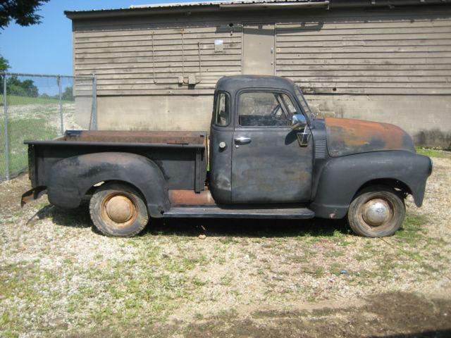 chevrolet other pickups pickup truck 1950 black for sale 3gph20385 1950 chevy 1 2 ton truck 5. Black Bedroom Furniture Sets. Home Design Ideas