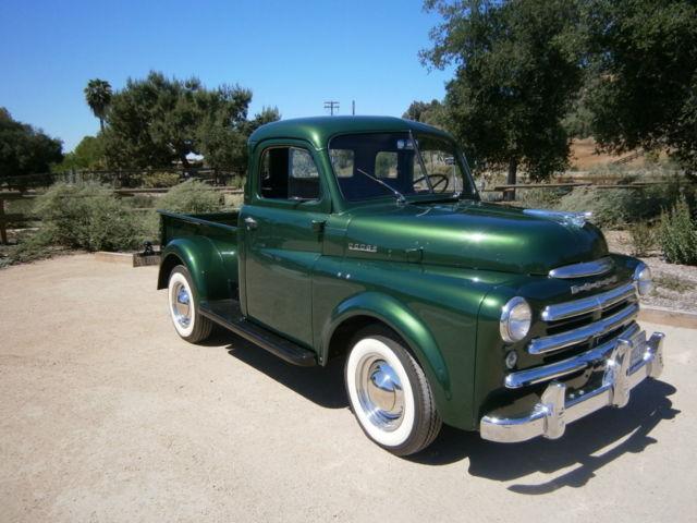 dodge other pickups standard cab pickup 1950 for sale 1950 dodge b series pickup truck. Black Bedroom Furniture Sets. Home Design Ideas
