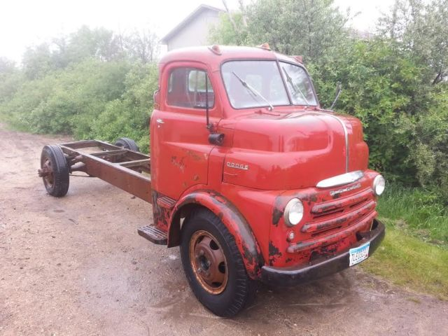Dodge Other Pickups Cab Chassis 1950 Red For Sale 82950412 1950