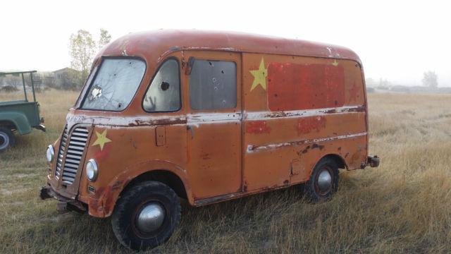 international harvester other van 1950 orange for sale am122m21059b 1950 ihc metro step van. Black Bedroom Furniture Sets. Home Design Ideas