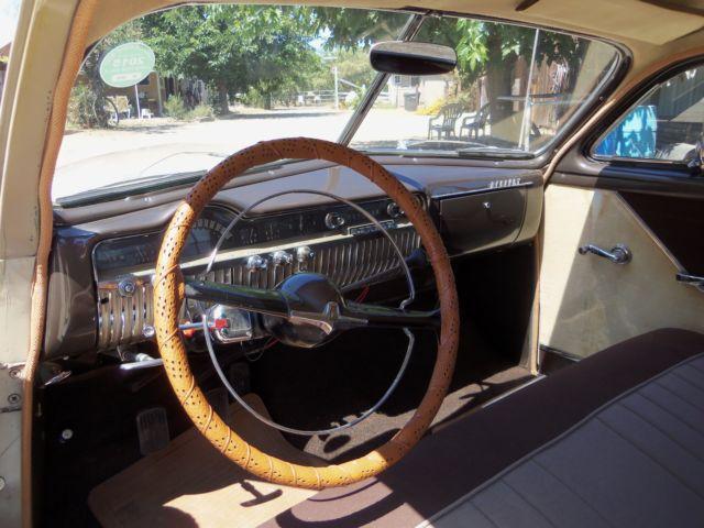 Mercury Original California Car Coupe 1950 Brown For Sale