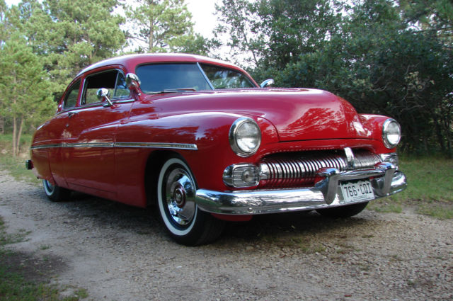 mercury other coupe 1950 red for sale merc1950 1950. Black Bedroom Furniture Sets. Home Design Ideas