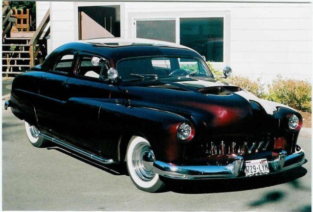 Mercury other 4 door sports sedan 1950 burgundy for sale for 1950 mercury 4 door for sale