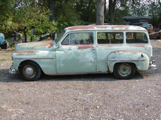 Plymouth Suburban Mopar Rat Rod California Cruiser Surf Wagon Flathead