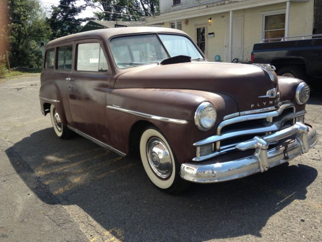 plymouth other station wagon 1950 brown for sale 18114957. Black Bedroom Furniture Sets. Home Design Ideas