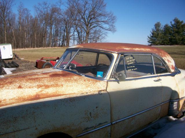 Pontiac catalina 2 door hardtop 1950 yellow copper for for 1950 pontiac 2 door