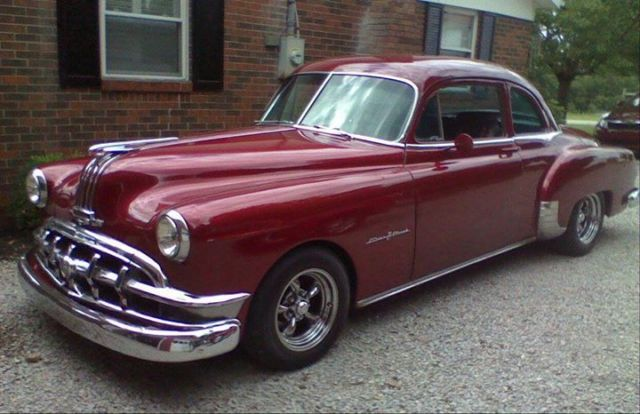 Pontiac other coupe 1950 burgundy for sale a6t52833 1950 for 1950 pontiac 2 door
