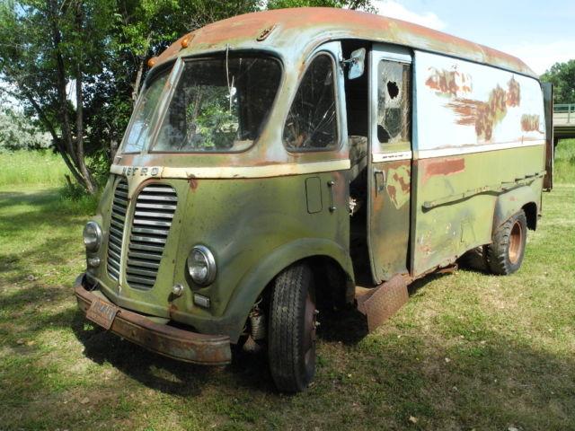 International Harvester Other Delivery Van 1951 Green For