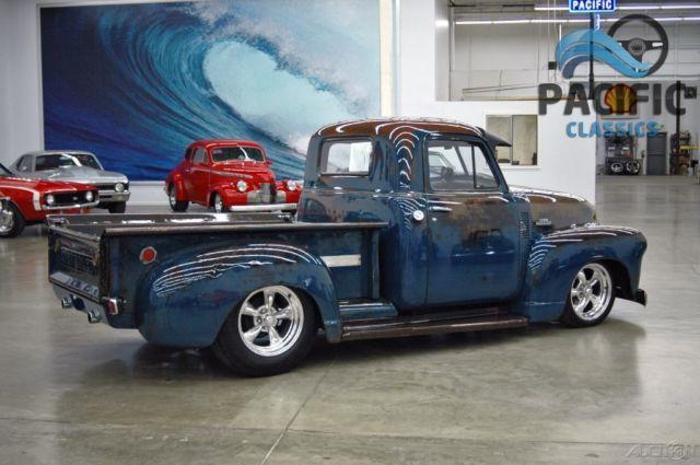 Chevrolet 3100 Pickup Truck 1951 Blue For Sale 6jfp10320