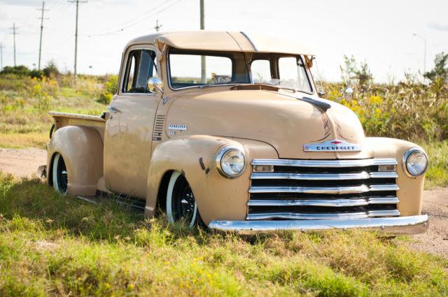 Chevrolet other pickup truck 1951 tan for sale ljpk1329 for 1951 gmc 5 window pickup