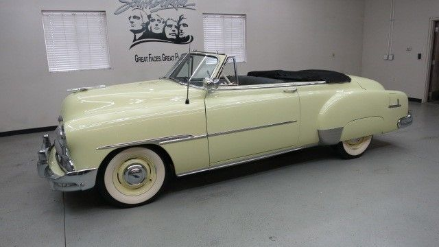 1951 Chevrolet Styleline Deluxe 2 Dr Convertible A Beautiful Restoration