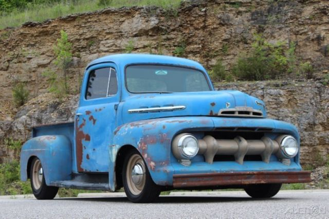 ford other pickups pickup truck 1951 other color for sale 1945 Ford F1 Rat Rod 1951 ford f 1 rat rod pickup restomod 350ci auto pdb ps patina nice f100 f1