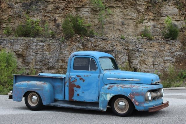 ford other pickups pickup truck 1951 other color for sale 1951 Ford F1 Truck 1951 ford f 1 rat rod pickup restomod 350ci auto pdb ps patina nice f100 f1