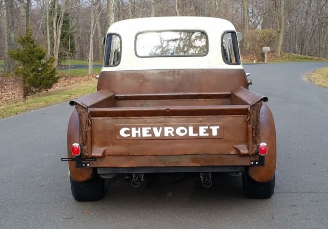 Chevrolet other pickups pickup 1952 brown ivory for sale for 1952 chevy 3100 5 window for sale