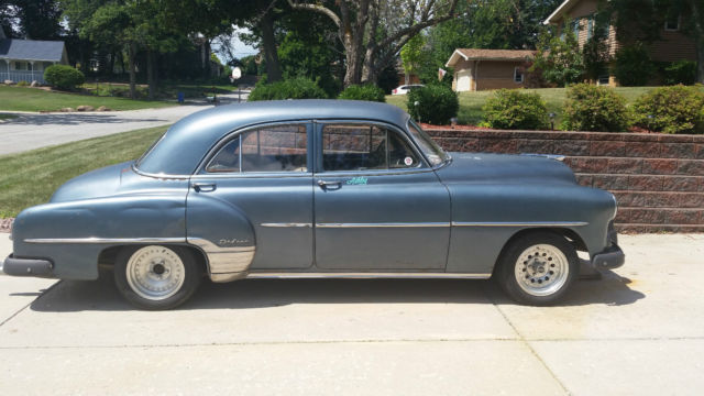 Chevrolet other sedan 1952 blue for sale 001 1952 for 1952 chevy 2 door sedan