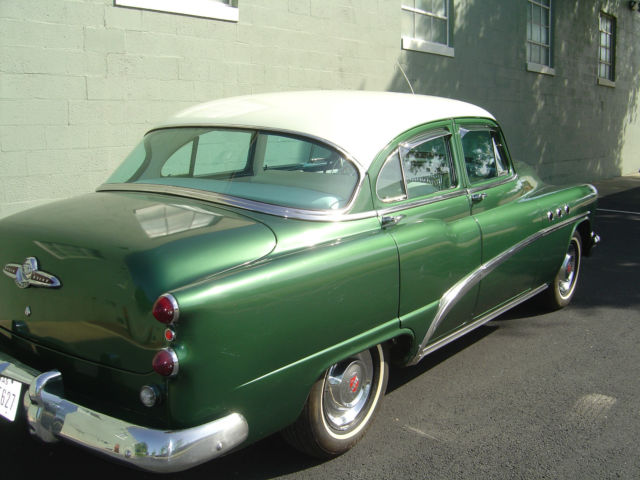 Buick Other Sedan 1953 Two Tone Green Amp White For Sale