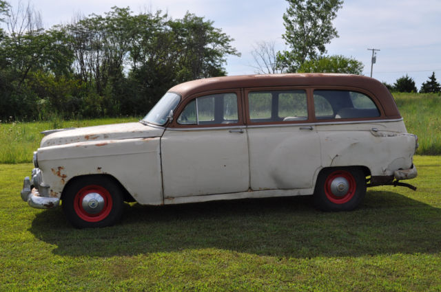 Chevrolet Bel Air 150 210 Station Wagon 1953 Tan For Sale