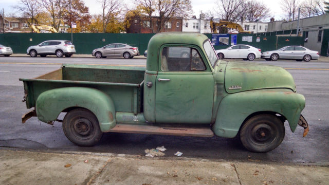 Chevrolet Other Pickups PICKUP 1953 Green For Sale