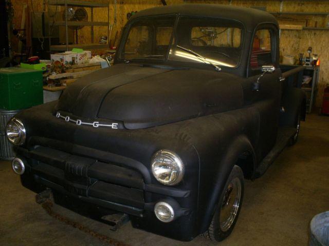 Dodge Other U/K 1953 Black Primer For Sale. 81466851 1953 ...  1953 Dodge Flatbed Truck