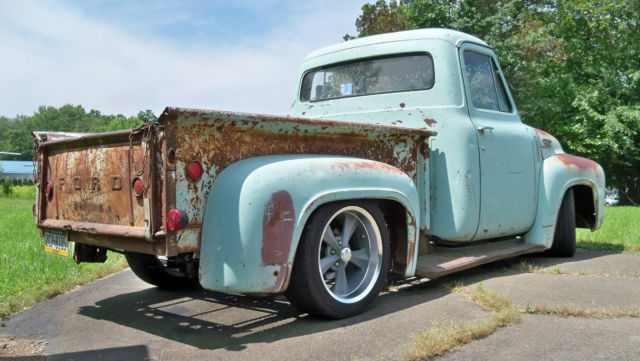 ford f 100 standard cab pickup 1953 seafoam with rust highlights for sale 1953 f100 barn find. Black Bedroom Furniture Sets. Home Design Ideas