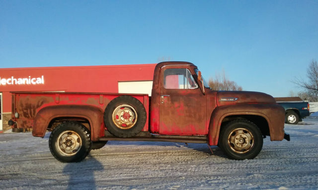 Ford Other Pickups Standard Cab Pickup 1953 Red For Sale