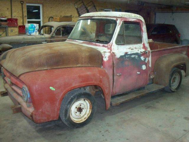 ford f 100 1953 for sale 1953 ford f100 truck flat head engine v8 clear title 3 speed manual. Black Bedroom Furniture Sets. Home Design Ideas