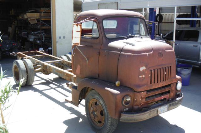 International Coe Great Car Hauler California Desert Farm Truck Rust Free