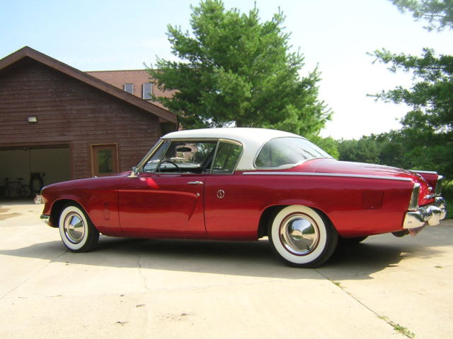 Used Tires Des Moines >> Studebaker Starliner Coupe 1953 Red and White For Sale ...