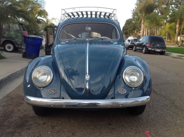 volkswagen beetle classic coupe  blue  sale   zwitter vw beetle classic