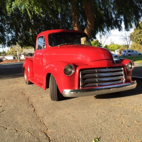 Chevrolet other pickups pickup truck 1954 red for sale for 1954 chevy truck 5 window for sale
