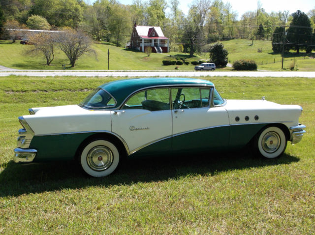 Buick Other Sedan 1955 Green Amp White For Sale 4b5066974 1955 Buick Special Barn Find A C