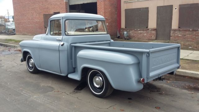 Chevrolet other pickups truck 1955 primer grey for sale for 1956 big window ford truck sale