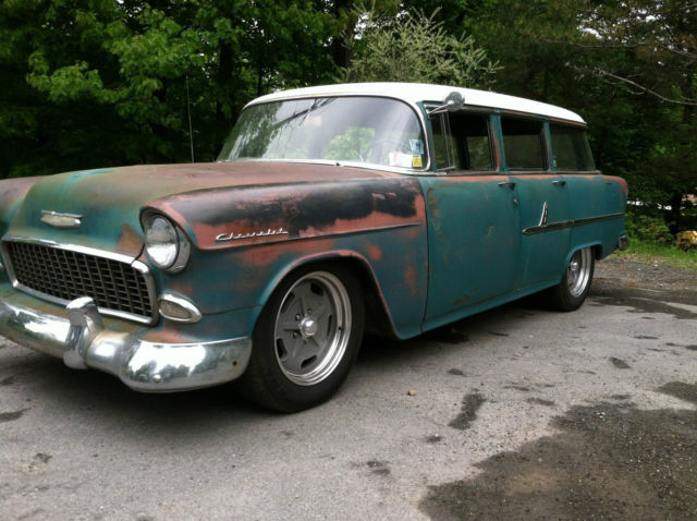 Chevrolet Bel Air/150/210 Wagon 1955 Green For Sale. 1955 ...