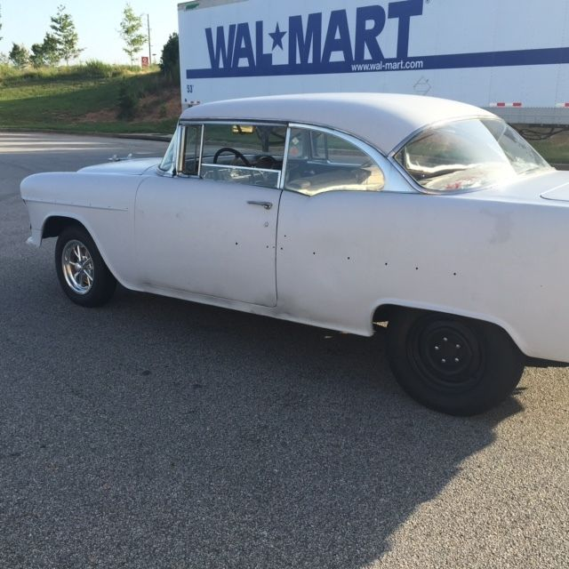 Chevrolet Bel Air/150/210 Coupe 1955 Gray For Sale